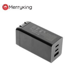 Mejor Venta de 65W Cargador de pared USB Tecnología GaN