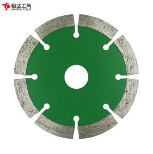 Objetivo general de la hoja de sierra de diamante de piedra de granito de corte de concreto