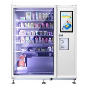 Coin cartão IC automática de alumínio 1 bebida fria Máquina de Venda Directa