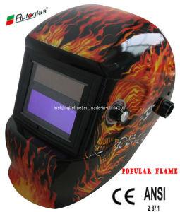 Auto oscurecimiento /casco de la soldadura de Energía Solar (G1190TC)