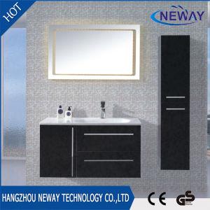 Vanità moderna della stanza da bagno della parete del PVC con il Governo laterale
