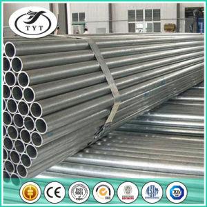 Galvanizzato intorno al tubo d'acciaio