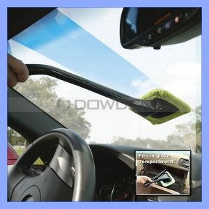 Lavage de voiture de l'outil de nettoyage en microfibres me demande de vent, voiture Glass Window Cleaner serviette