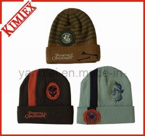 Cappello lavorato a maglia promozione acrilica del jacquard di inverno