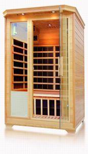Lejos de vapor de infrarrojos de alta calidad Sala de Sauna Finlandesa de la casa de la cabina