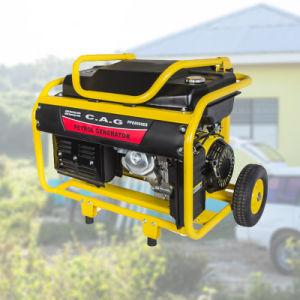6.5kw/6.5kVA/7500 50Hz/60Hz 110V/220V/380V bewegliches Benzin/Treibstoff-Generator