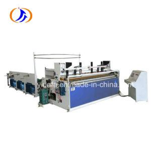 Full-Automatic Rebobinar y perforado una toalla de papel higiénico y la máquina de papel