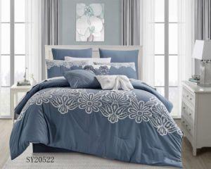 Edredón bordado conjunto de ropa de cama SY20522