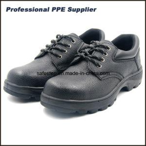 S1p La suela de caucho Cuero Zapatos de seguridad con el bajo precio