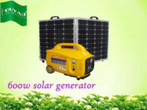 L'énergie solaire générateur en mode silencieux (600W)