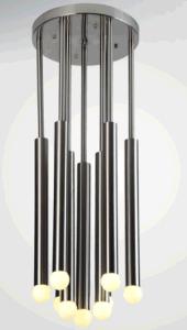 Moderne einfache Art-Metalldecken-Lampe mit LED