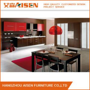 2017 Novo Modelo PVC Modular de cozinha armário de cozinha