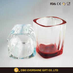 Contenitore impaccante bevente a forma di quadrato di tazza di vetro di colpo