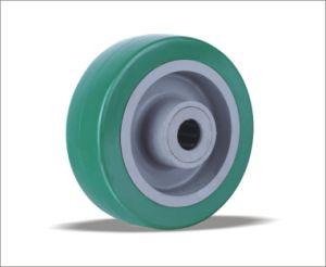 precio de fábrica de ruedas de poliuretano con el Centro de PP