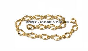 S1108 латунные цепь с помощью пружинного кольца застежка браслет