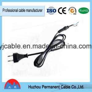 El equipo necesita esta! Tipo europeo de 2 polos equipo cable de alimentación (aprobado por VDE) con RoHS
