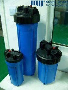 Wasser-Kassetten-Plastikfiltergehäuse der Qualitäts-10 nachfüllbares