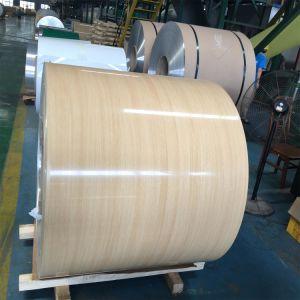 Lamiera di alluminio/lamierino del grano di legno per il pavimento