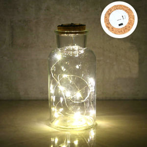 Стеклянные бутылки вазы с индикатором украшения