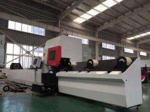 La cortadora del laser de la fibra del tubo Eeto-P2060 para redondo/el cuadrado/transmite completamente
