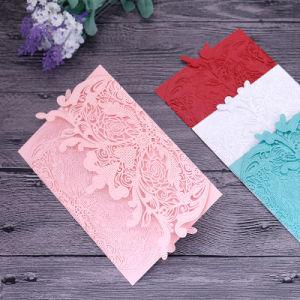 Het Afdrukken van vier Kaarten van de Groet van de Kaarten van de Uitnodiging van de Kaart van het Document van de Douane van Kleuren