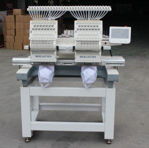Holiaumaの最もよい品質の兄弟の商業コンピュータ化された2ヘッド刺繍機械