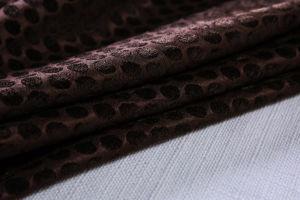 I tessuti neri del sofà e della mobilia del gruppo del PUNTINO da 360GSM