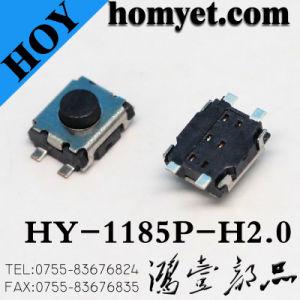 interruttore tattile di tatto dell'interruttore di 4.0*3.0mm 4pin SMT (HY-1185UPM)