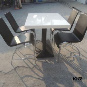 Современные Kingkonree квадратных искусственным мрамором камня ресторан таблица (181026)