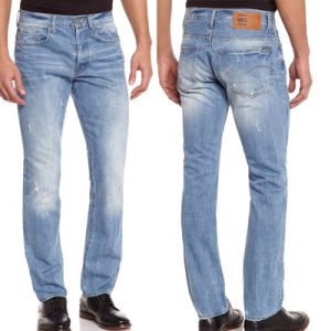 Синие Люди хлопка растянуть основные промойте моды промойте повседневная одежда тонкий установите прямые джинсы