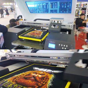 t-셔츠 의복 인쇄 기계에 직접 기계를 인쇄하는 목제 면 직물