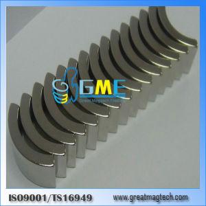 N40h или28.5xir24.5xh17X59.4 высокое качество Редкоземельные Arc магнита