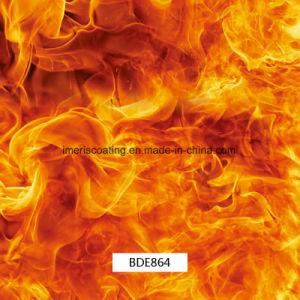 試供品はである使用できる1mの炎パターンHydrographicsの印刷水転送の印刷、車および銃(BDE864)のためのPVAのフィルム、