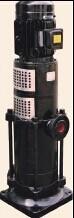 La pompe jockey à la verticale de la pompe de gavage de pompe à eau à plusieurs degrés 2017