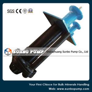 Centrífugas de eixo vertical do cárter com revestimento de borracha Pit Slurrypump Tipo Sv