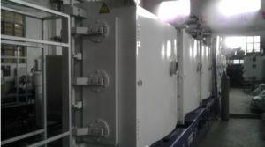 Pulvérisation consécutives verticale de la ligne de produits de revêtement
