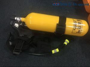 Apparecchio a presa d'aria per la strumentazione di lotta antincendio