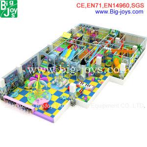 Strumentazione dell'interno del campo da giuoco di divertimento impertinente del castello del giocattolo dei capretti (BJ-IP101)