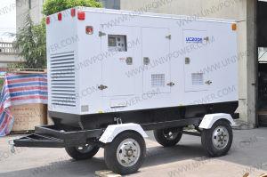 250kVA UC200e 이동할 수 있는 트레일러 발전기