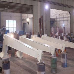 Certificado CCS Design Deck Marinho Crane 5t@6m Pedestal Elétrico Guindaste