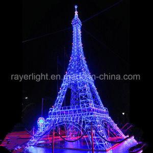Großer LED-Motiv-Beleuchtung-Eiffelturm-im Freienweihnachtslichter