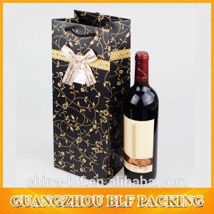 Рр ручку бутылку вина бумажных мешков для пыли