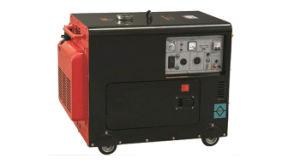 冷却される空気が付いている5kw 6.25kVAの携帯用ディーゼル発電機