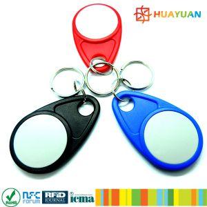 접근 제한을%s 125kHz TK4100 RFID ID keyfob