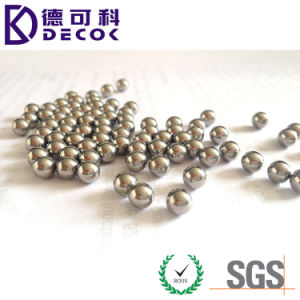 3.175mm 3.969mm 4mm 4.763mm 5mm 304 316 a Esfera de Aço Inoxidável