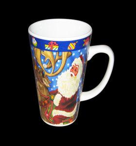 De grappige 11oz Mok van de Koffie van Kerstmis Ceramische voor het Drinken van het Huis