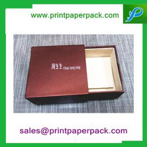 Custom Craft tiroir rigide boîte cadeau & Sac, boîte d'emballage de stockage de Bijoux, Bijoux cosmétiques perruque rigide Paper Box, plateau thé / café emballage imprimé