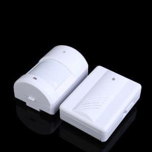 Capteur de mouvement infrarouge sonnette d'alarme sans fil