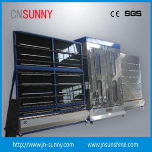 Plat en verre de flottement de la machine à laver le verre vertical machine à laver