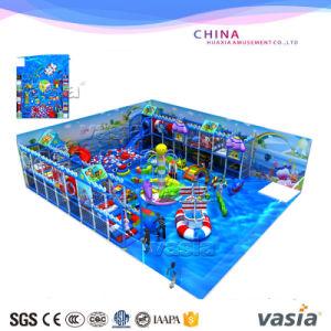 Giocattolo molle dell'elemento dell'interno del campo da giuoco di tema dell'oceano dei bambini